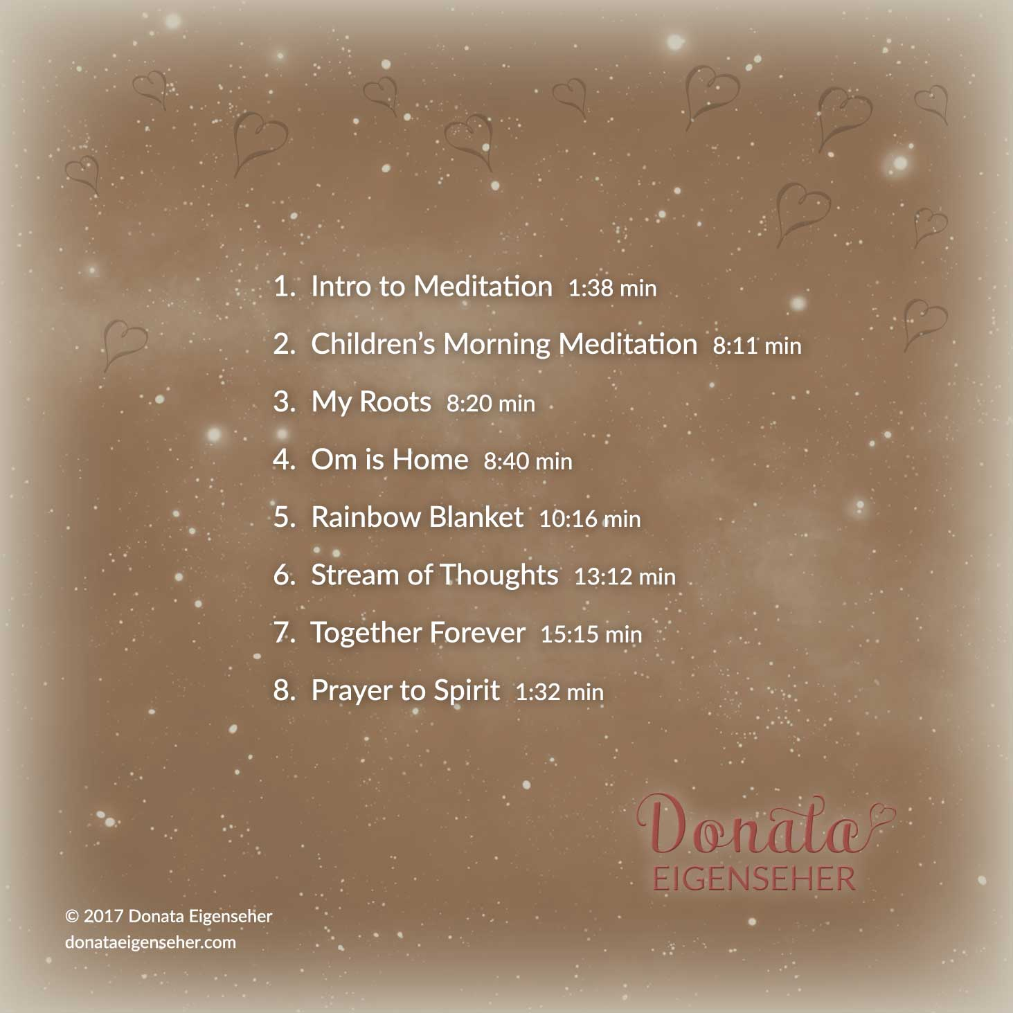 Children's Meditation CD & MP3, Donata Eigenseher, Edmonton, Canada