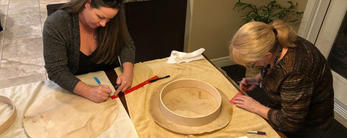 Make Your Own Hand Drum, Edmonton, Alberta, Donata Eigenseher
